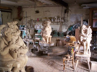 sculpture workshop of fran ois dufour. Black Bedroom Furniture Sets. Home Design Ideas