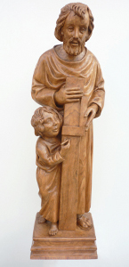 sculpture Saint Joseph