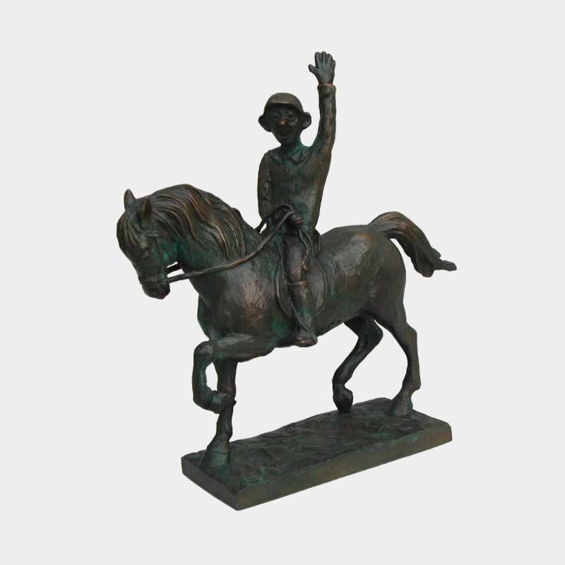 sculpture Bronze Rider