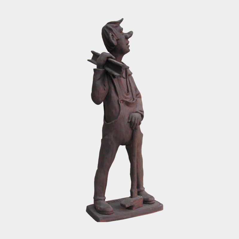 sculpture Terracotta Metallurgist